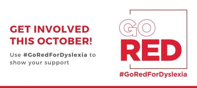 Go Red For Dyslexia