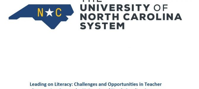 What are NC universities teaching future teachers?